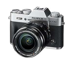 Fujifilm - Appareil Photo - X-T20 + XF18-55mm,24,3Mpix - Argent (Ref: 16542684)