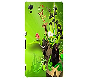 perfect print Back cover for Sony Xperia Z3 Plus