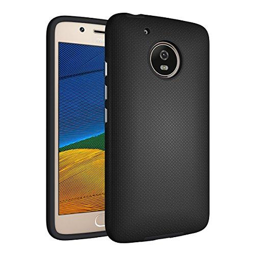 Coque Motorola Moto G5 Noir,Coque Moto G5 [avec un Stylo Tactile],Slynmax Luxe Mode Housse TPU Slim Bumper Souple Silicone Etui Housse de Protection Flexible Soft Case Cas Couverture Anti Choc Ultra Mince Légère Coque pour Motorola Moto G5