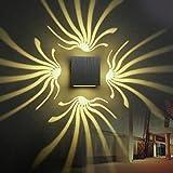 JIALUN- LED Wandleuchte Aluminium Wandleuchte Dekoration Lampe 3 Watt LED Für Gang Schlafzimmer Korridor Veranda KTV BAR AC85-265V ( Color : Warm White )