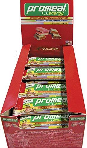 Barrette energetiche Promeal Energy senza conservanti - 30 barrette da 40 grammi GUSTO: ARANCIA - 5107pW  7rL