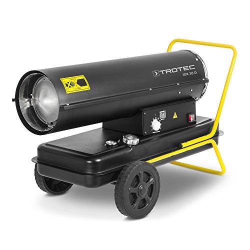 TROTEC Direkt-Ölheizgebläse Heizkanone IDX 30 D Ölheizer Ölbeheizung Heizer mit 30 kW
