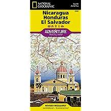 NICARAGUA/HONDURAS/EL SALVADOR 1/710.000