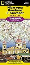 El Salvador Nicaragua & Honduras adv. ng (Adventure Map)