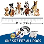 flea and tick collar for dogs, waterproof dog anti flea collar, natural & safe Flea and Tick Collar for Dogs, Waterproof Dog Anti Flea Collar, Natural & Safe 5107q6sNIrL