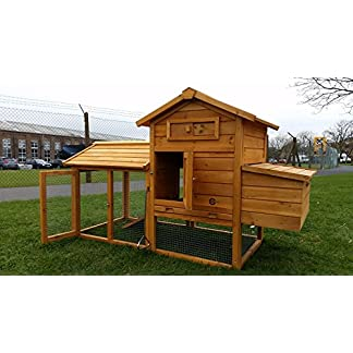 Cocoon Chicken Coop Chicken Coops Hen chicken House Ark Poultry Run Nest Box Rabbit Hutch - Integrated Run & Cleaning Tray & Innovative Locking Mechanism (NO SHIPING TO NORTHERN IRELAND, ISLANDS, SCOTTISH HIGHLANDS) Cocoon Chicken Coop Chicken Coops Hen chicken House Ark Poultry Run Nest Box Rabbit Hutch – Integrated Run & Cleaning Tray & Innovative Locking Mechanism (NO SHIPING TO NORTHERN IRELAND, ISLANDS, SCOTTISH HIGHLANDS) 5107qTlZx2L