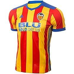 adidas Vcf a Jsy Camiseta 2ª Equipación Valencia CF 2017-2018, Hombre, Rojo, M