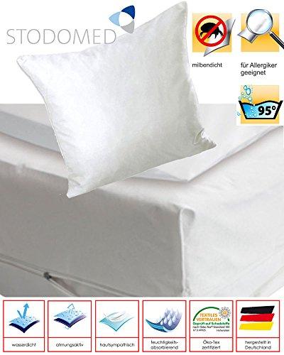 ENCASING Matratzenschutzbezug Milben- Allergie- & Nässeschutz 90 x 200