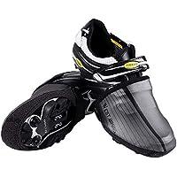 WESTGIRL Überschuhe Reflektierend Fahrrad Radsport Zehenwärmer, Wasserdicht Winddicht Neopren Regen Schnee Toe Cover Fahrräder Feet Gamaschen