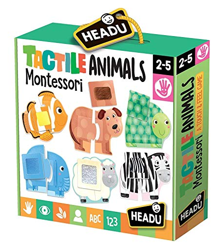 Headu it20188 - Cachorros táctiles Montessori