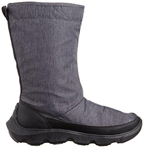 Crocs - Duet Busy Day Winter Boot W, Stivali Donna Nero (Black/Black)