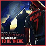 Love st - Mahendra Singh Dhoni MSD Cricket - Poster for Home and Office