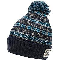0a72cd3b10 SoulCal Mens Stylish Winter Knitted Dogoda Bobble Hat Headwear