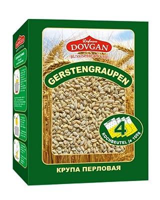 Dovgan Perlgraupen 4x100g - Portionsbeutel, 10er Pack (10 x 400 g)
