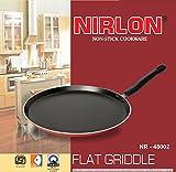 NIRLON Eco450 Non Stick Tawa 27.5 cm diameter(Aluminium, Non-stick dosa tava)
