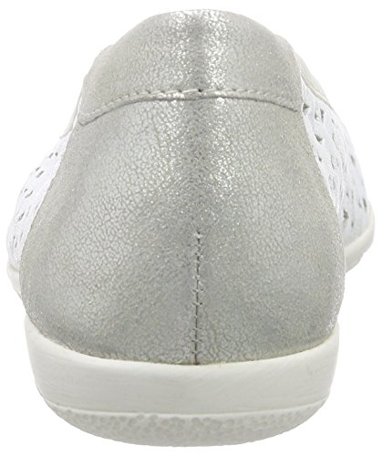 Caprice - 22550, Ballerine Donna Avorio (Elfenbein (OFFWHT NA./SI. 193))