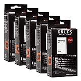 Krups Anticalc Kit* F054 Entkalker, Kalkreiniger, Kalkentferner, 5er Pack