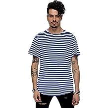 Amazon.es: Camiseta Rayas Hombre