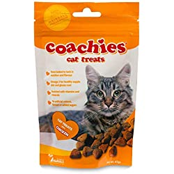 Unbranded Coachies Katzensnacks mit Huhn (65 g) (Mehrfarbig)