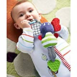 Baby Rattle Teether Multi-functional Sof...