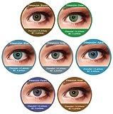 Farbige Kontaktlinsen Braun 3 Monatslinsen Contact lenses Design: Dimension Brown Bild 1