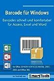 Barcode für Windows - Barcodes mit Excel, Access und Word - für Etiketten, Serienbriefe, Formulare usw. - EAN-, ISBN-, Code 39-Barcodes -