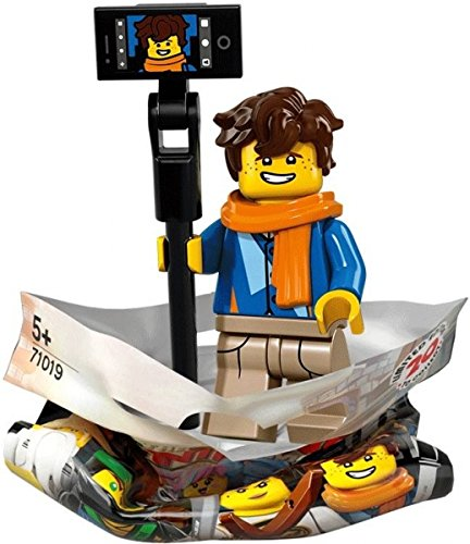 Walker Set (THE LEGO® NINJAGO® MOVIE™ 71019 Minifigur Jay Walker mit 1x GALAXYARMS Saigabel und 1x Katana in Gold (Jay Walker))
