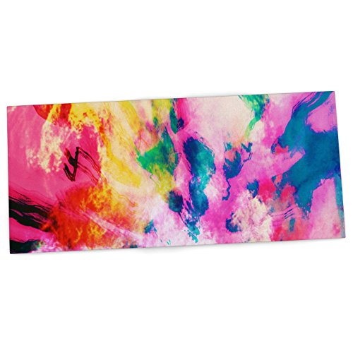 kess-inhouse-caleb-troy-technicolor-clouds-office-desk-mat-blotter-pad-mousepad-13-x-26-inches-by-ke
