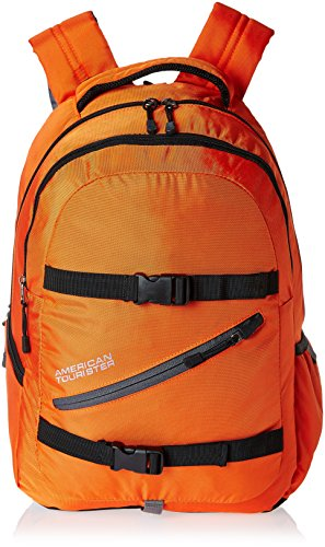 American Tourister 23 Lts Orange Laptop Backpack (ZAP 2016)