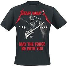 Bravado Star Wars-Metal Wars, Camiseta para Hombre