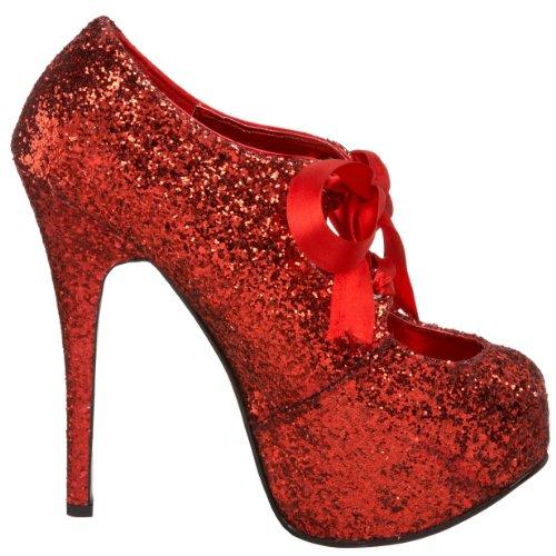 Bordello TEE10G/PUR EscarpinsTeeze Femmes Red Gltr