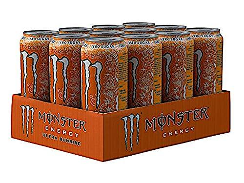 Monster Energy Zero Sugar 12 x 500ml (Ultra Sunrise)
