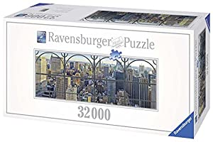 Ravensburger - Puzzles 32000 Piezas, diseño City Window New York (17837 7)