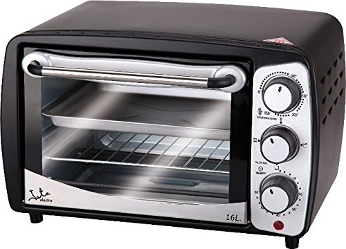 Jata Hn616 Mini Table Top Oven, 16 Litre, 1280 W