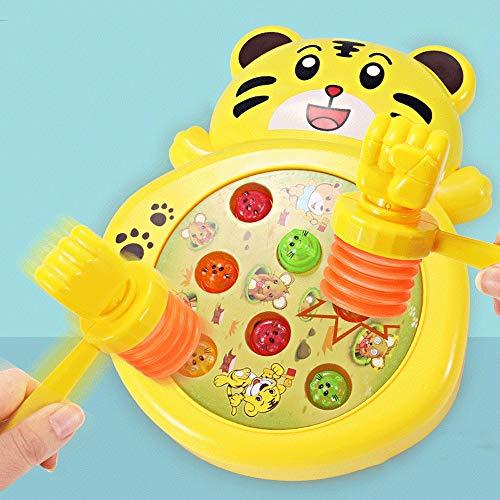 Giocattolo a percussione per bambini Piccolo giocattolo a percussione per bambini Macchina per giochi elettrici di musica per bambini Gioco di intelligenza per la coordinazione occhio della ragazza