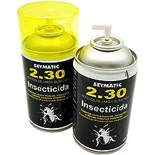 Insecticida Profesional Seymatic 2.30, con Piretrinas sintéticas y naturales. Mata fulminantemente Moscas, Mosquitos