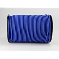 8 MM Cord Blue 20 M Tensioning Rope / Tarpaulin Rope Bungee elast. by monoflex
