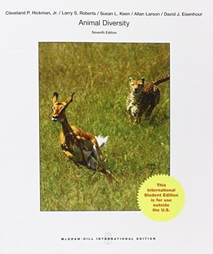 Animal Diversity by Jr., Cleveland P Hickman (2014-11-01)