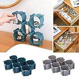 GCDXDL Home Storage cassetto Combinazione Libera di Finitura Biancheria Intima Scatola di plastica Calzini Bagagli Lattice Armadio Layered Vano