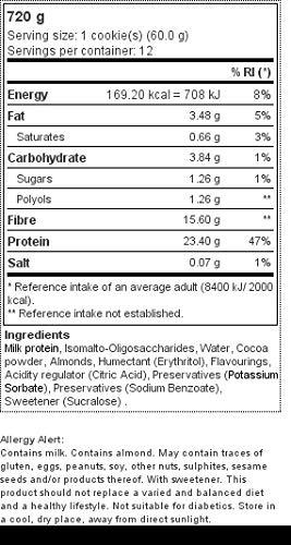 Zoom IMG-1 prozis zero cookie brownie pacco