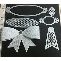 DIY Bowknot Metal Cutting Dies Scrapbooking Stencils Album Decorative Craft by Lai-LYQ
