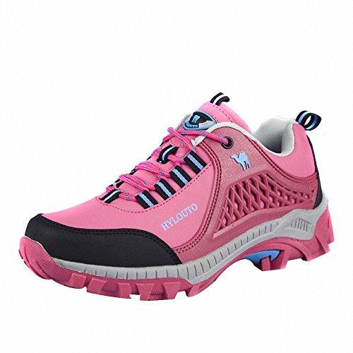 Ben Sports Camping et randonnée Vêtements de sport de Chaussures de Homme Femme,35-46 Rose