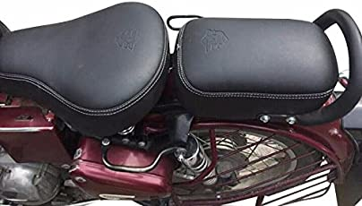 Seat covers buy seat covers online at best prices in india amazon saharaseats sahara cushion foam seat cover for royal enfield classic 350500 black fandeluxe Image collections