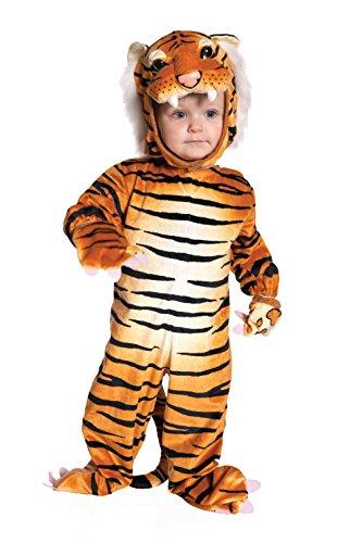 Underwraps 156384 Brown Tiger Baby-Kleinkind Kost-m