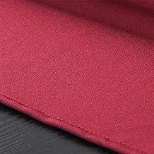 HEIFEN Mantel Impermeable 150 * 150 Cm Cuadrado Algodón Y Lino Color Sólido Mantel Moderno Antiarrugas