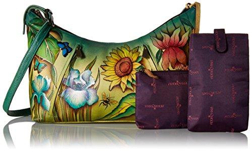 AnUSCHKA, Borsa a spalla donna Multicolore Multicolore Multicolore (Floral Dreams)