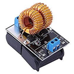 AST Works Mini 5-12V ZVS Low Voltage Induction Heating Power Supply Module+Heater Coil