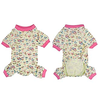 WIDEN ELECTRIC Pajamas trackSuit Pet Dog Cat Clothing Summer Skirt Pajamas JumpSuits Products Four -Feet Stripe Puppy Clothes Suit Skirts WIDEN ELECTRIC Pajamas trackSuit Pet Dog Cat Clothing Summer Skirt Pajamas JumpSuits Products Four -Feet Stripe Puppy Clothes Suit Skirts 5108B 2BaXwAL
