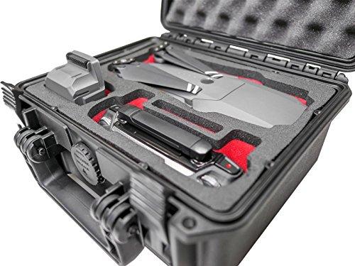 Profi Transportkoffer, Koffer für DJI Mavic Pro + Zubehör, klein und kompakt, Outdoor Case, Hardcase
