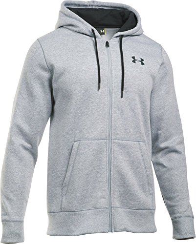 Sweatshirt Kapuze Jordan Ohne (Under Armour Herren Kapuzenjacke CC Storm Rival Full-Zip, true gray heather, XS, 1280781)